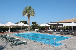 lemnos greece beach hotel with pool