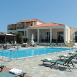 myrina lemnos hotel with pool