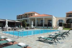 myrina lemnos hotel with pool