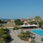 beach pool hotel lemnos greece
