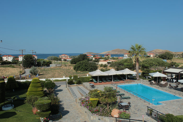 Beach Pool Hotel Lemnos Greece